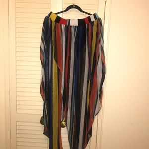 334a61cee27 Madrag Multi-Color mesh cover up US size 2X · NWT
